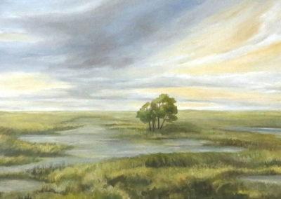Gemälde in Öl - auf Leinwand